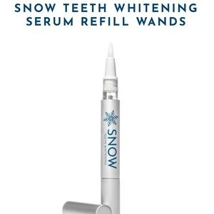 Snow teeth whitening wand